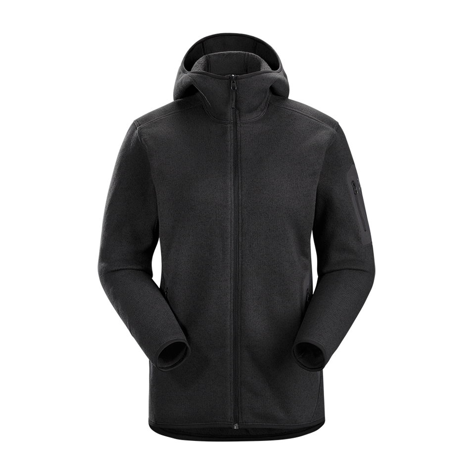Arc'teryx Women's Covert Hoody Black Heather