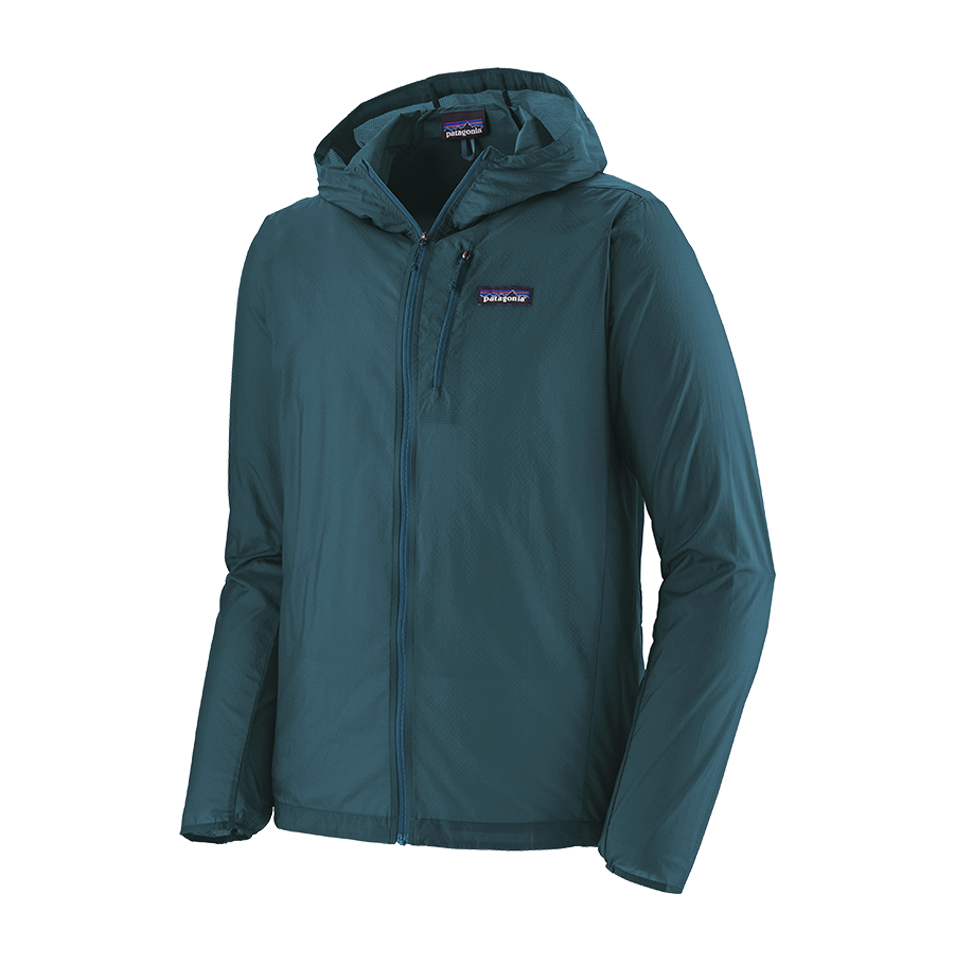 Patagonia Men's Houdini Jacket Crater Blue