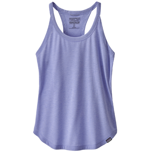 Patagonia Women's Capilene Cool Trail Tank Light Violet Blue