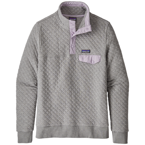 Patagonia Women's Quilt Snap-T P/O Drifter Grey