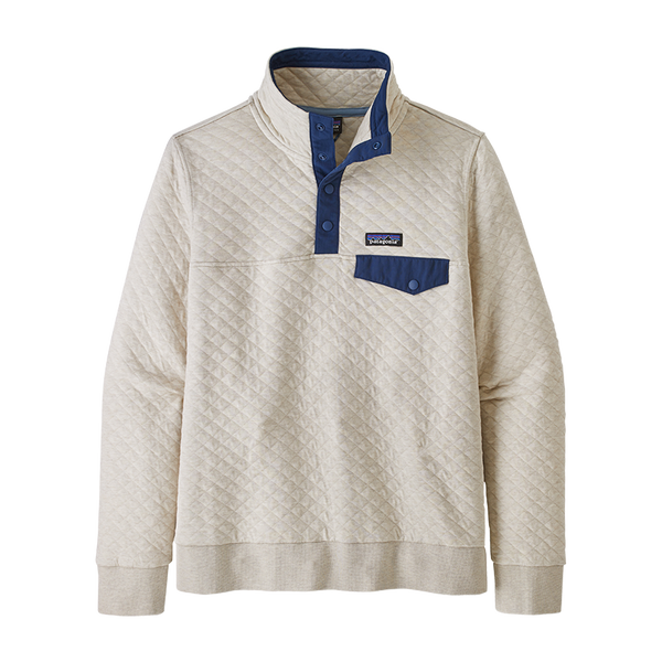 Patagonia Women's Organic Cotton Quilt Snap-T Pullover Pelican