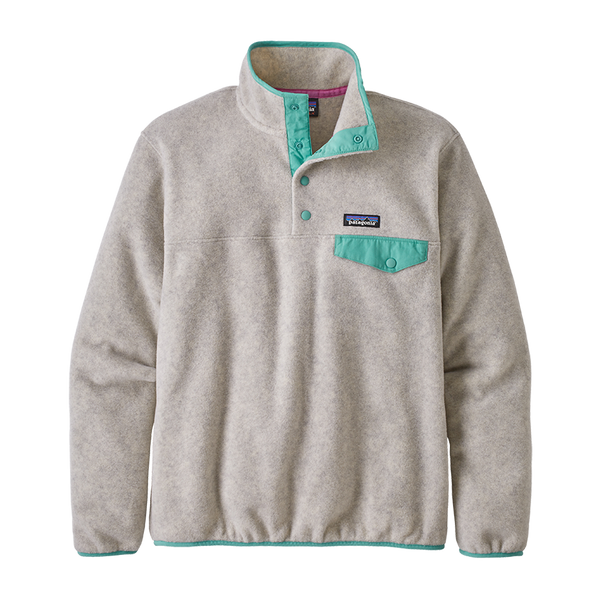 Patagonia Women's LW Synch Snap-T P/O Oatmeal Heather
