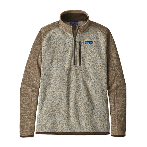 Patagonia Men's Better Sweater 1/4-Zip Bleached Stone