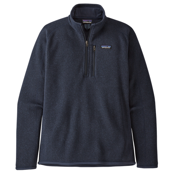 Patagonia Men's Better Sweater 1/4-Zip New Navy