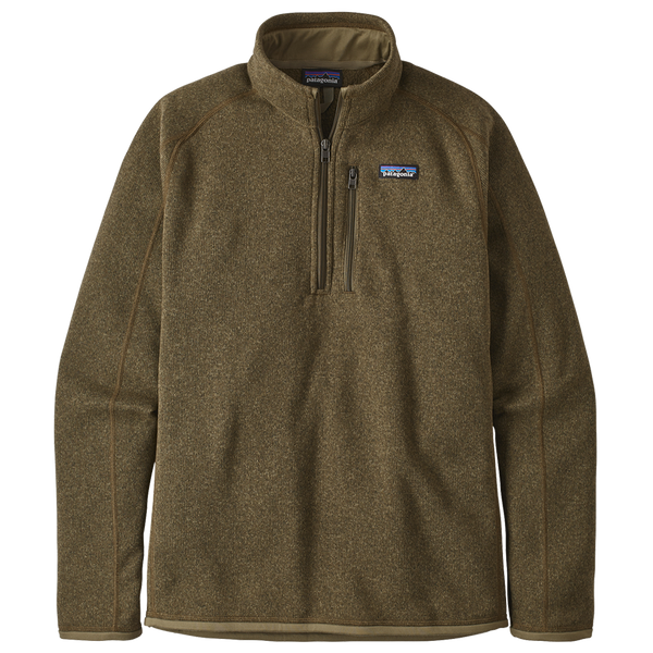 Patagonia Men's Better Sweater 1/4-Zip Sage Khaki