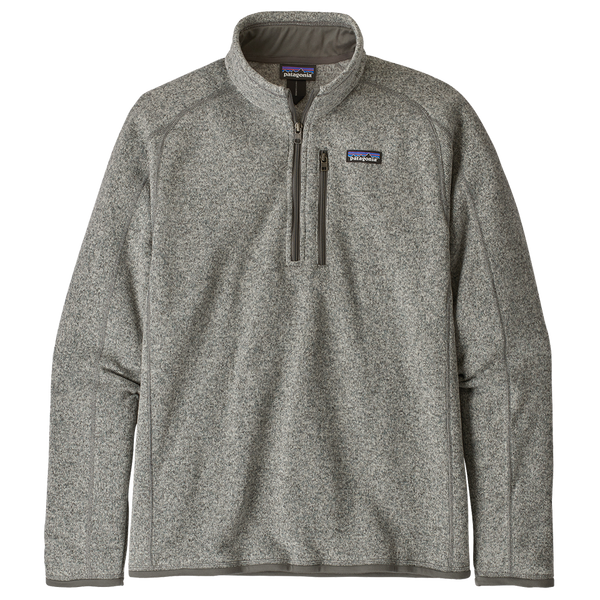 Patagonia Men's Better Sweater 1/4-Zip Stone Heather