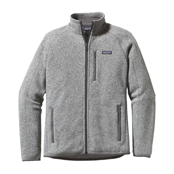 Patagonia Men's Better Sweater Fleece Jacket Stonewash Grey