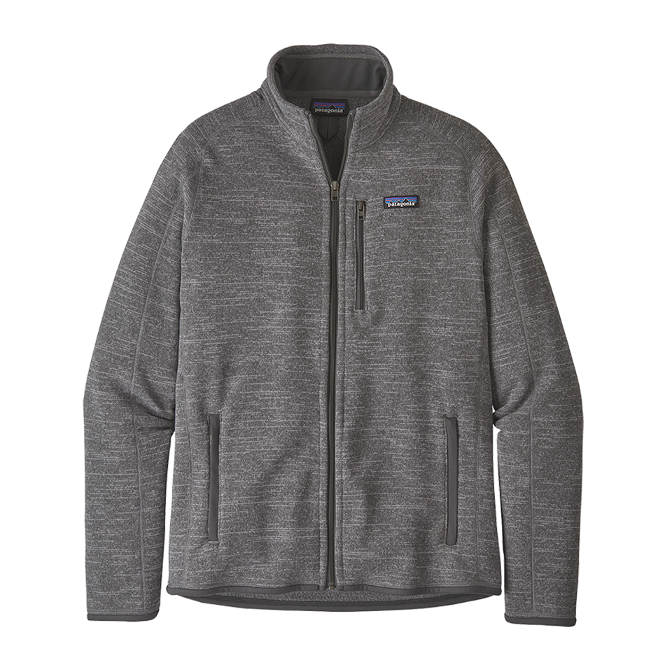 Patagonia Men's Better Sweater Jacket Nickel