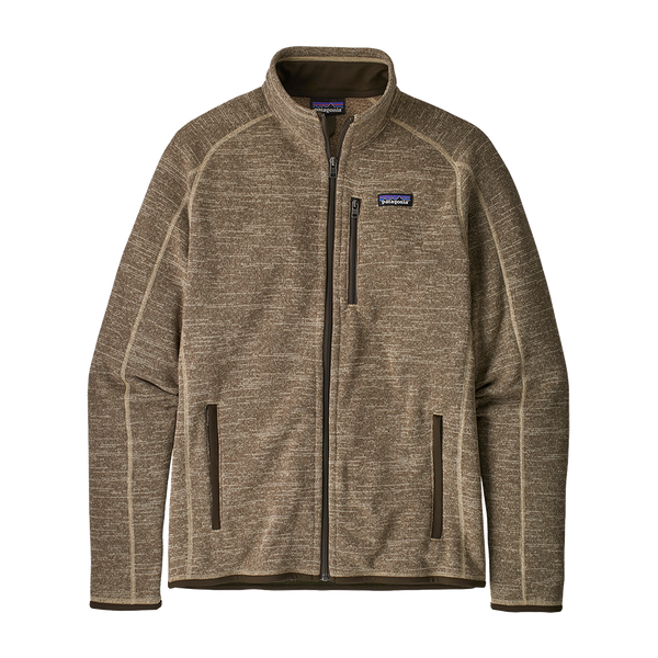 Patagonia Men's Better Sweater Jacket Pale Khaki