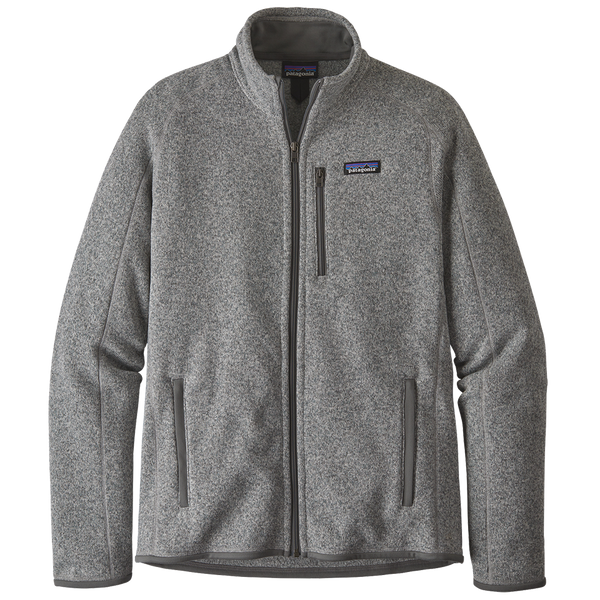 Patagonia Men's Better Sweater Jacket Stone Heather
