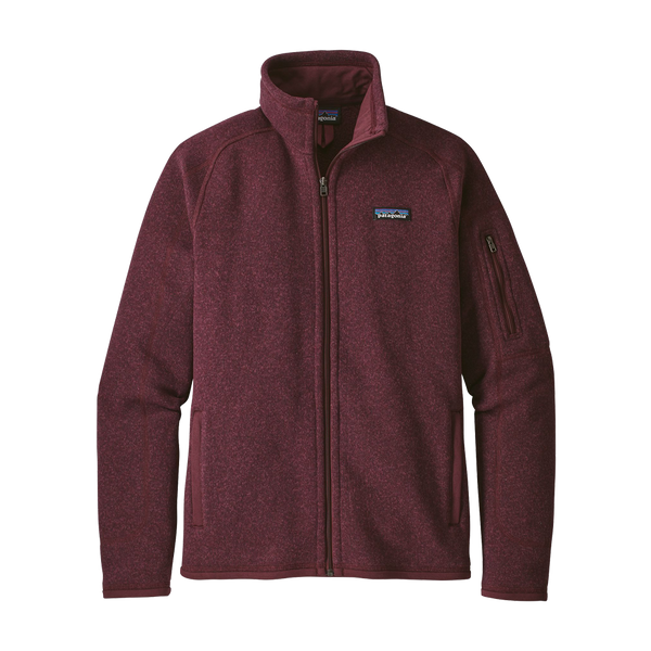 Patagonia Women's Better Sweater Jacket Dark Currant