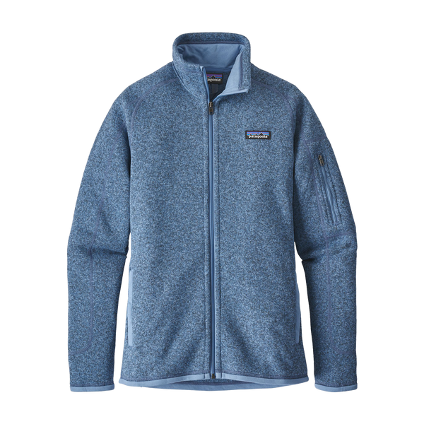Patagonia Women's Better Sweater Jacket Railroad Blue