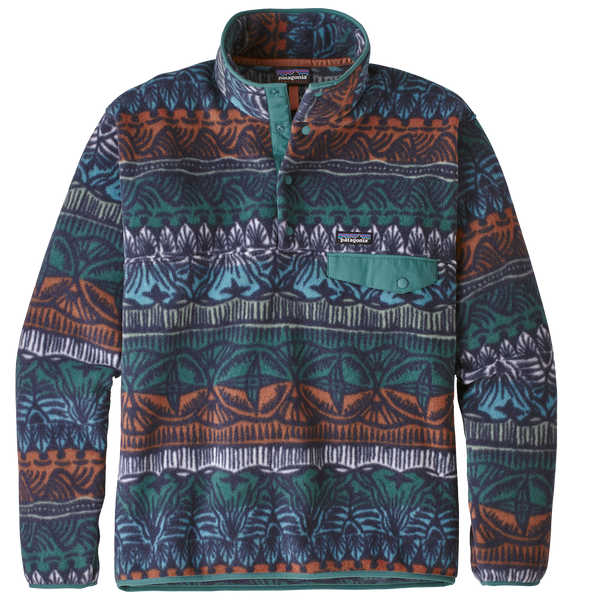 Patagonia Men's Lightweight Synchilla Snap-T Pullover Stone Blue
