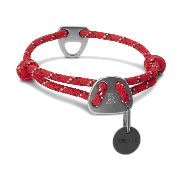 Ruffwear Inc Knot-A-Collar Red Currant