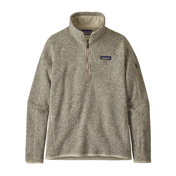 Patagonia Women's Better Sweater 1/4-Zip Pelican