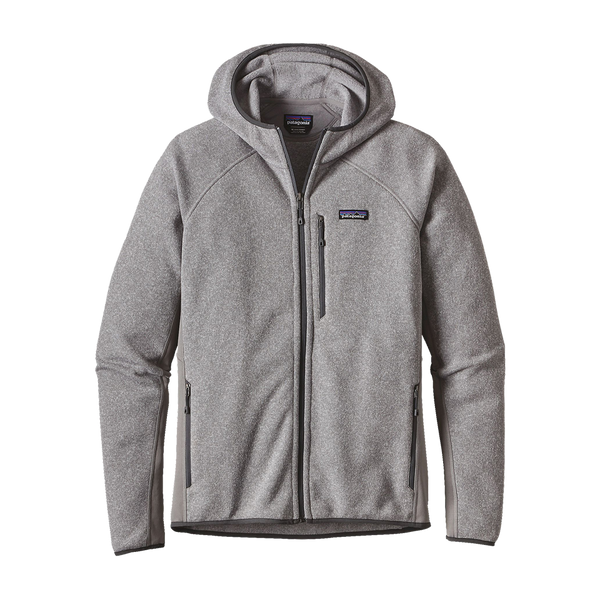 Patagonia Men's Performance Better Sweater Fleece Hoody Feather Grey