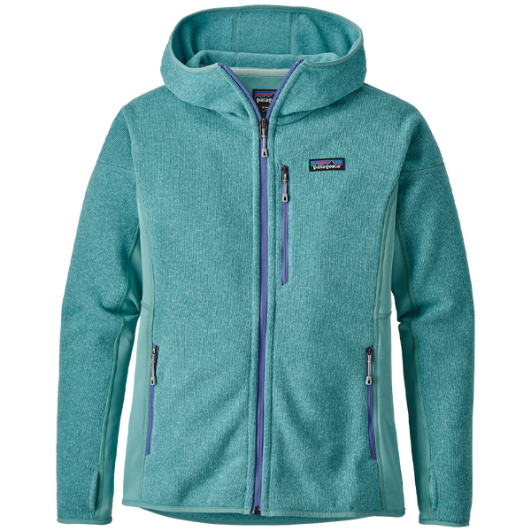 Patagonia Women's Performance Better Sweater® Hoody Dam Blue