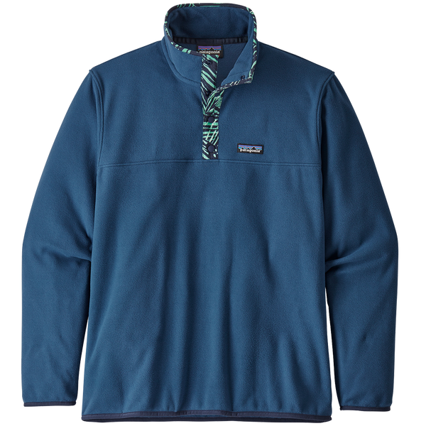 Patgaonia Men's Micro D Snap-T Pullover Stone Blue