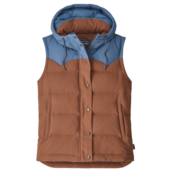 Patagonia Women's Bivy Hooded Vest Sisu Brown
