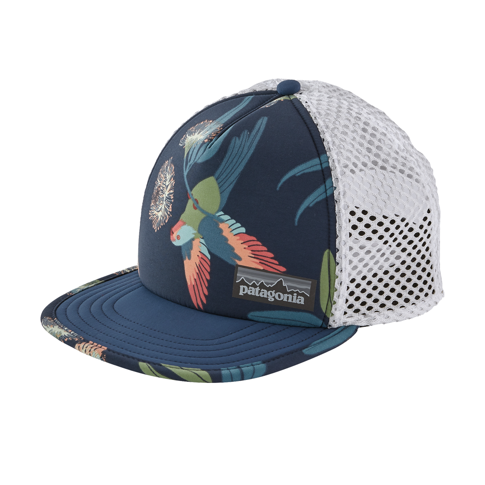 Patagonia Duckbill Trucker Hat Parrots: Stone Blue