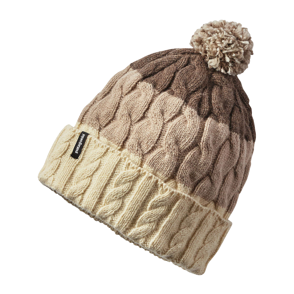 c742213d7ca Patagonia Women s Pom Beanie Toasted White Stripe - Play Stores Inc