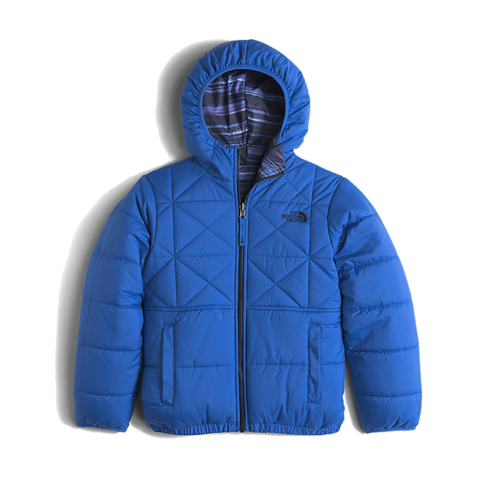The North Face Boys Reversible Perrito Jacket Jake Blue