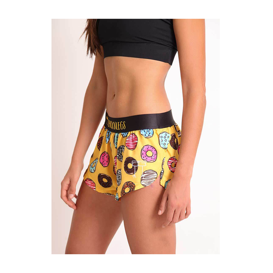 "ChicknLegs Women's 1.5"" Run Salty Donuts"