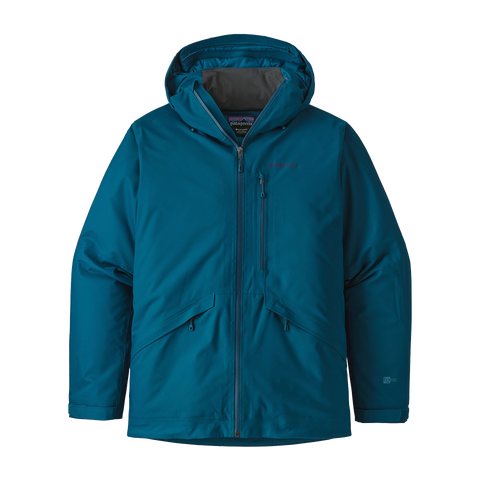 Patagonia Men s Insulated Snowshot Jacket Big Surf Blue 1c62f297841e