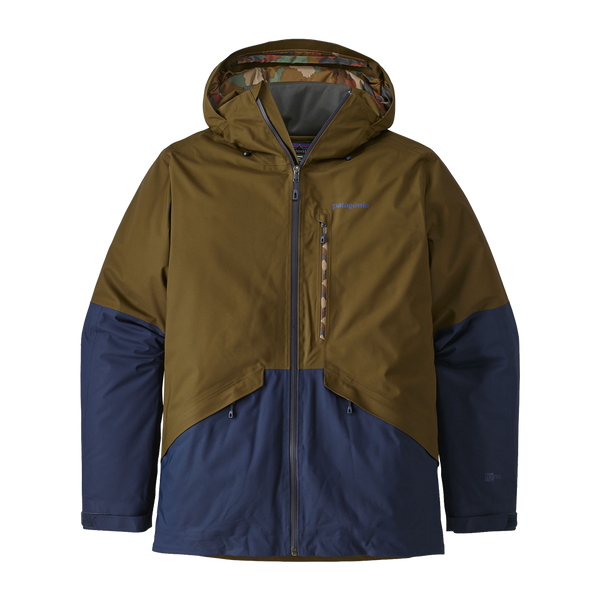 Patagonia Men's Insulated Snowshot Jacket Sediment