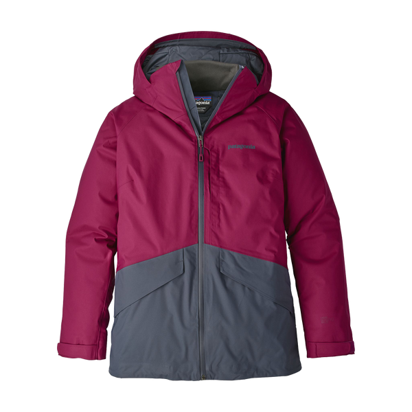 Patagonia Women's Insulated Snowbelle Jacket Magenta