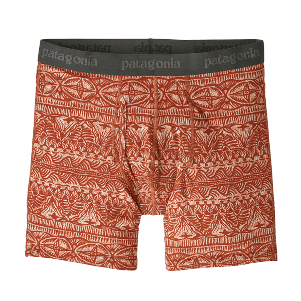 "Patagonia Men's Essential Boxer Briefs 6"" Tradewinds: New Adobe"