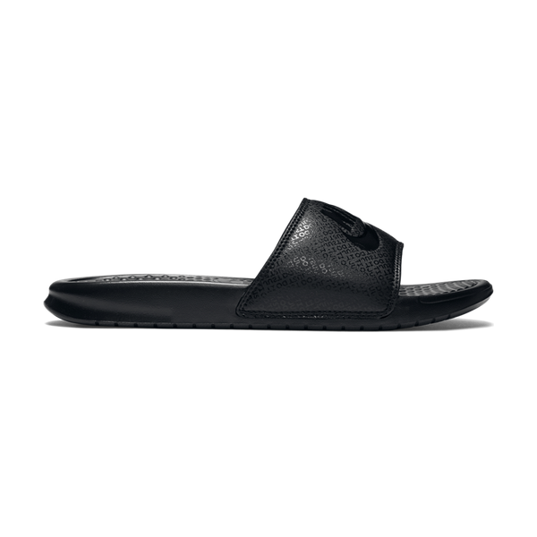 "Nike Men's Benassi ""Just Do It."" Sandal Black"