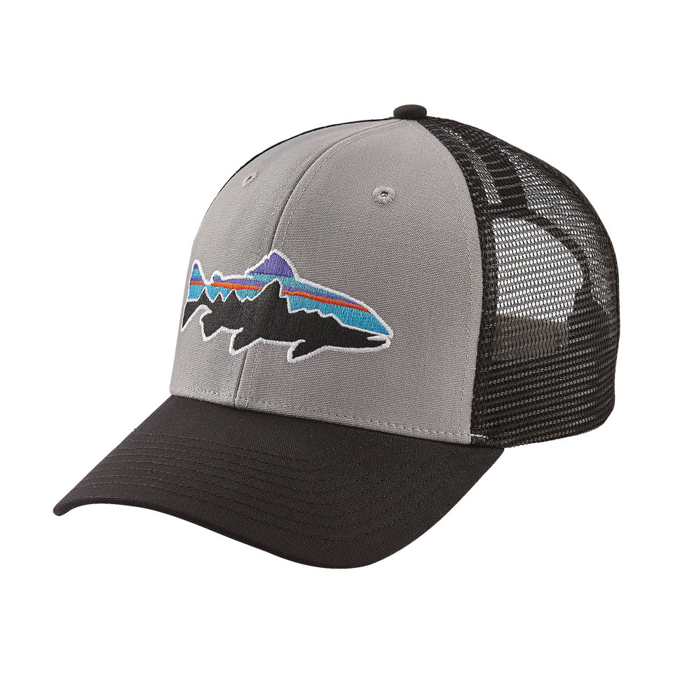 Patagonia Men s Fitz Roy Trout Trucker Hat Drifter Grey - Play ... 88afe43f58cc