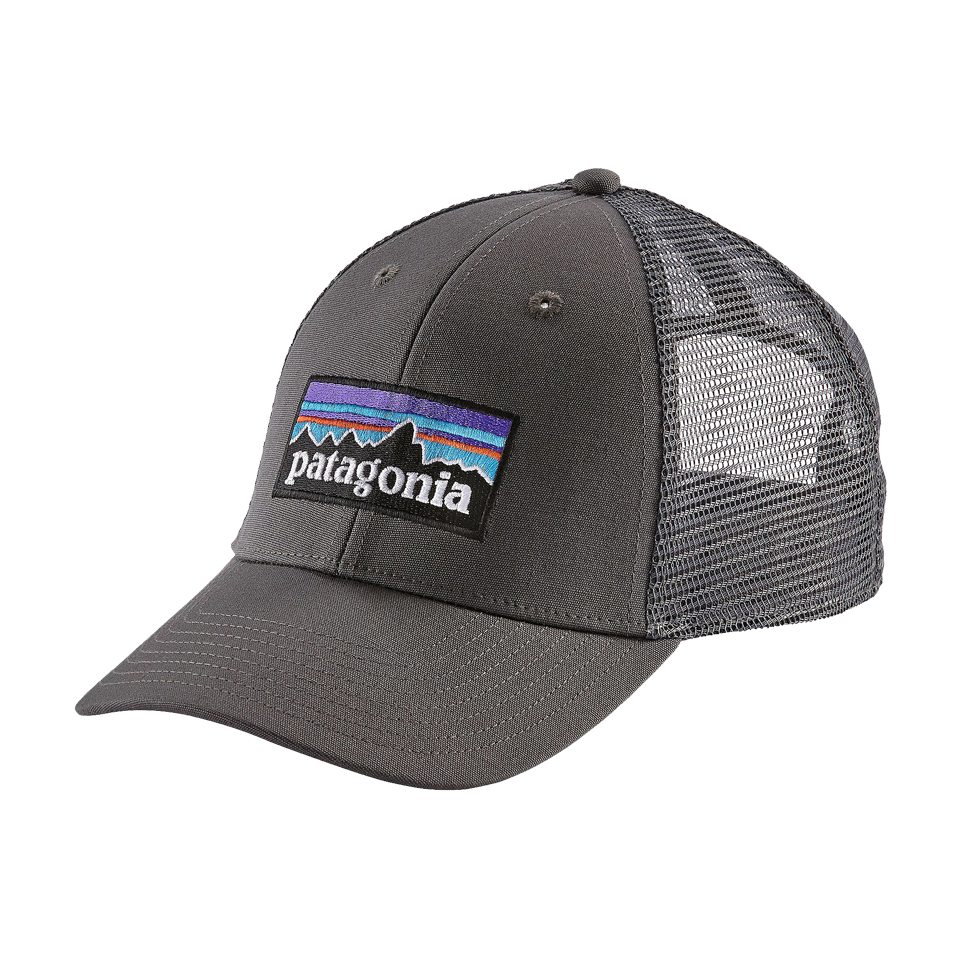 Patagonia Men s P-6 Logo Lopro Trucker Hat Forge Grey - Play Stores Inc 570cdcfdc8e9