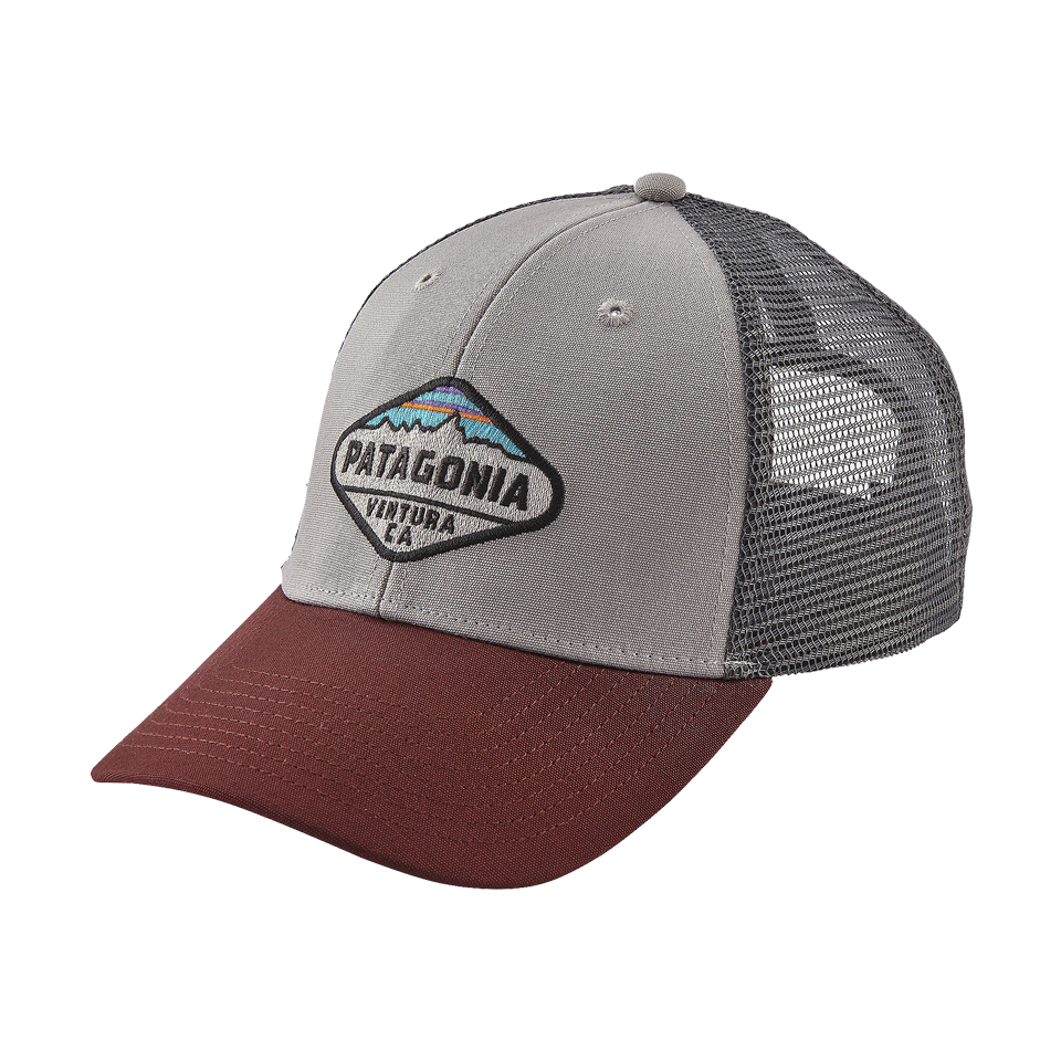 860f752d935 Patagonia Men s Fitzroy Crest Lopro Trucker Hat Drifter Grey - Play Stores  Inc
