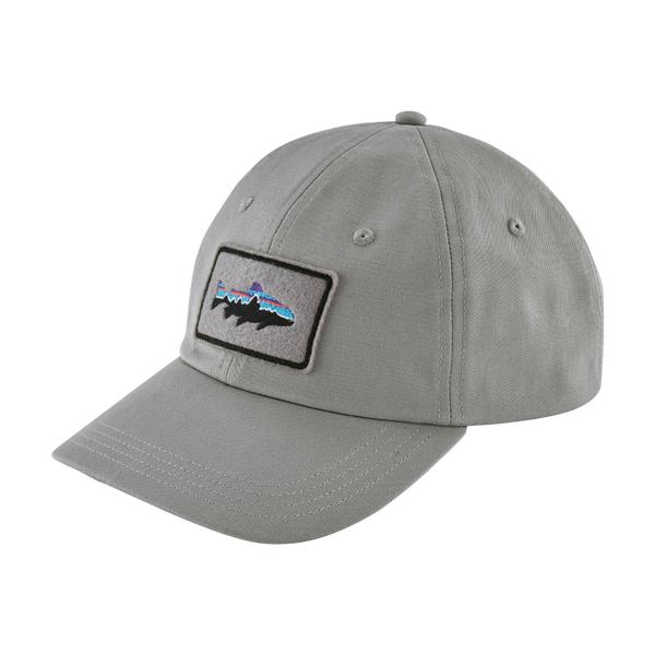 Patagonia Fitz Roy Trout Patch Trad Cap Drifter Grey