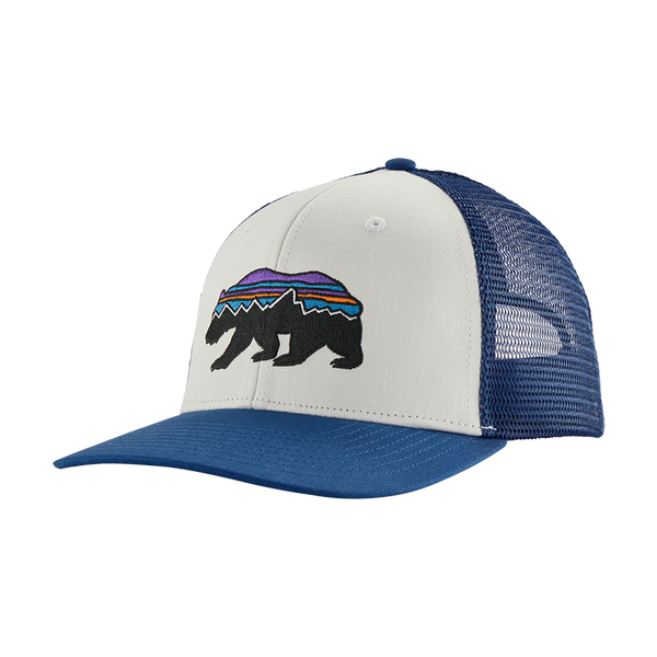 Patagonia Fitz Roy Bear Trucker Hat White