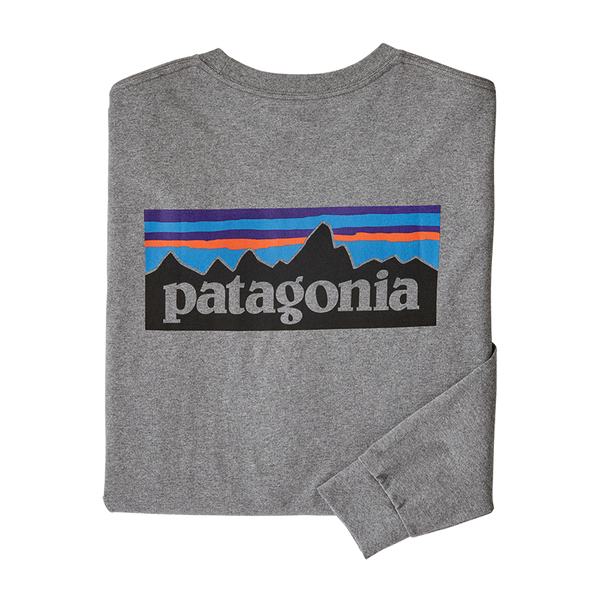 Patagonia Men's L/S Tee Gravel Heather
