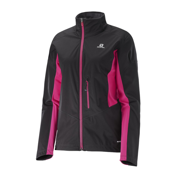 Salomon Women's Lightning Softshell Jacket Black