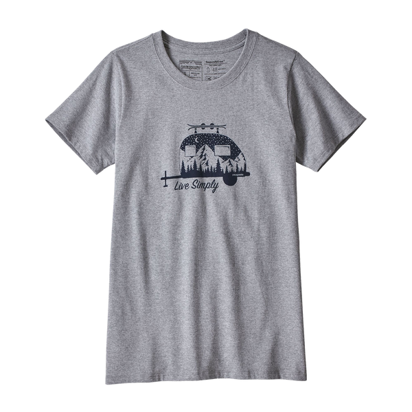 Patagonia Women's Live Simply Tee Drifter Grey