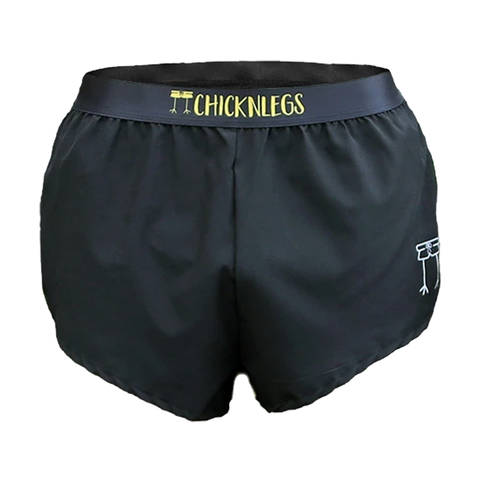 "ChicknLegs Men's 2"" Run Black"