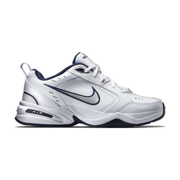 Nike Men's Air Monarch IV White/Metallic Silver