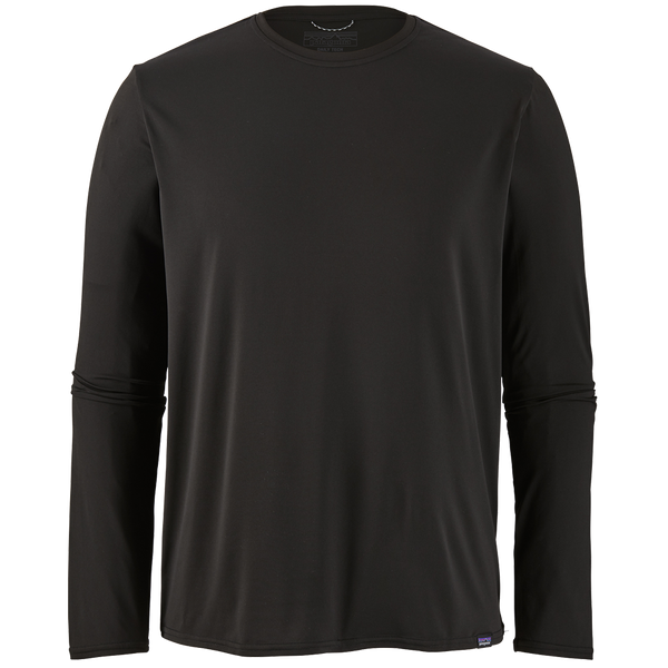 Patagonia Men's Long-Sleeved Capilene Cool Daily Shirt Black