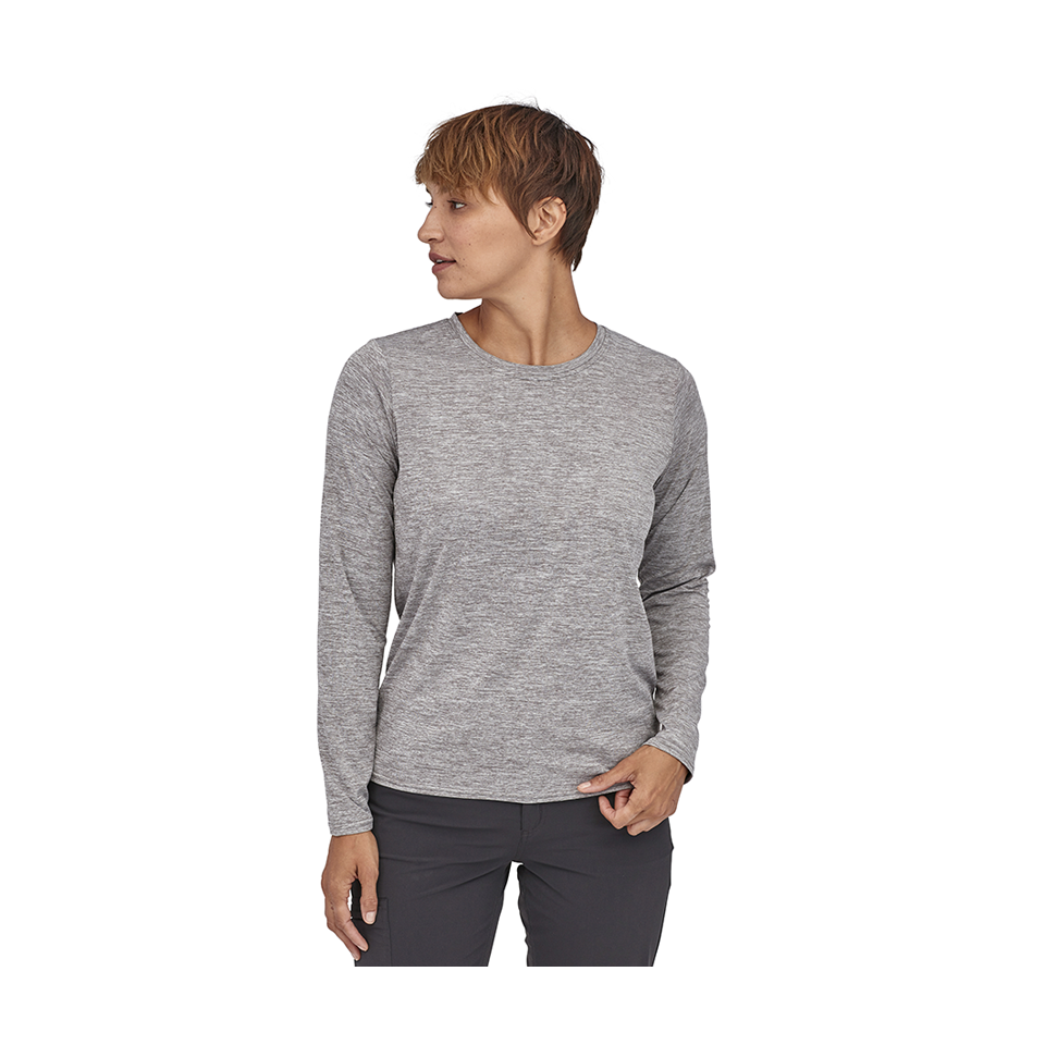 Patagonia Women's Long-Sleeved Capilene Cool Daily Shirt Feather Grey