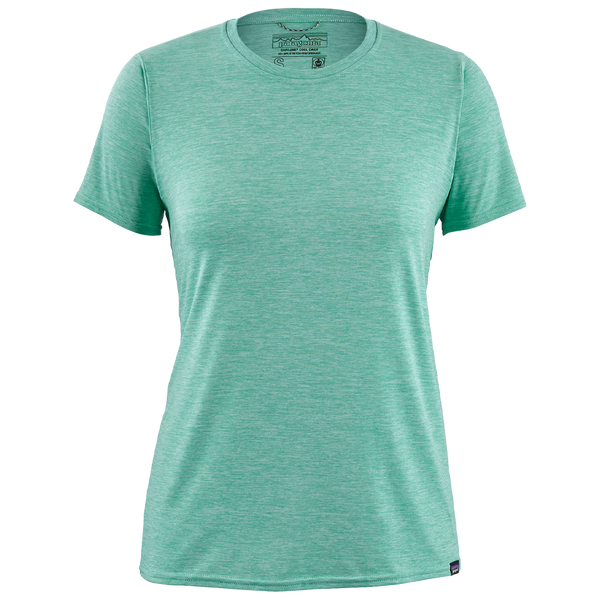 Patagonia Women's Capilene Cool Daily Shirt Vjosa Green - Light Vjosa Green X-Dye