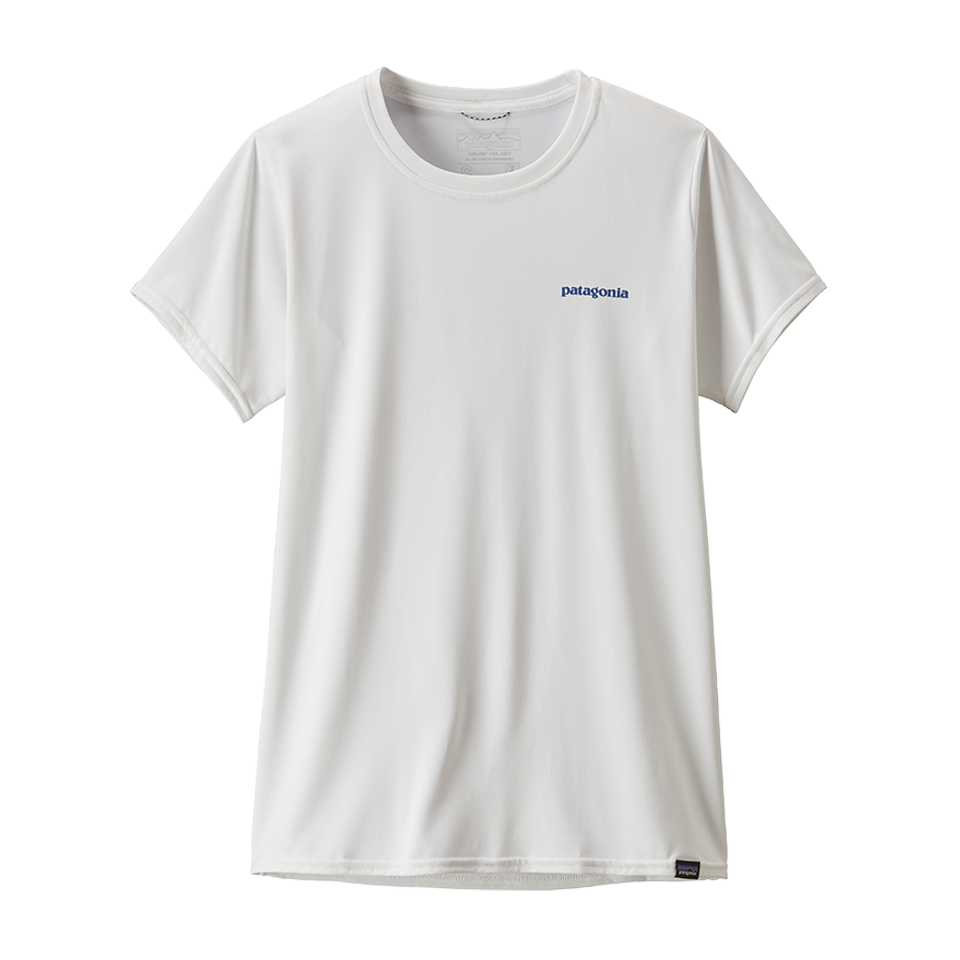 Patagonia Women's Capilene Cool Daily Graphic Shirt White