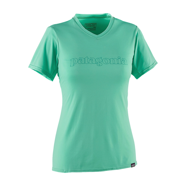 Patagonia Women's Capilene Daily Graphic Tee Galah Green