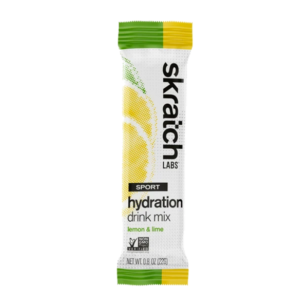 Skratch Labs Sport Hydration Drink Mix Single Serving Lemon & Lime