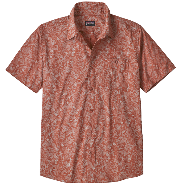 Patagonia Men's Go To Shirt Beyond Extinction Small: Century Pink