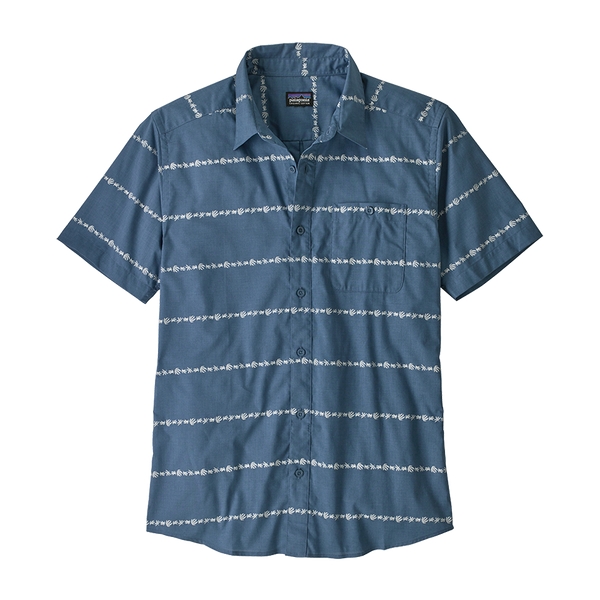 Patagonia Men's Go To Shirt Pigeon Blue
